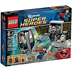 LEGO Super Heroes - Superman: Black Zero Escape, pack de figuras de acción (LEGO 76009)