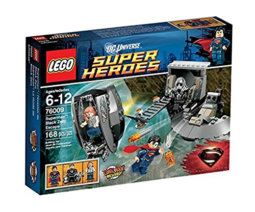 LEGO Super Heroes - Superman: Black Zero Escape, Pack de Figuras de acción 76009