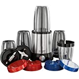 Russell Hobbs 23180-56 NutriBoost Blender Compact Multifonctions + 15 Accessoires