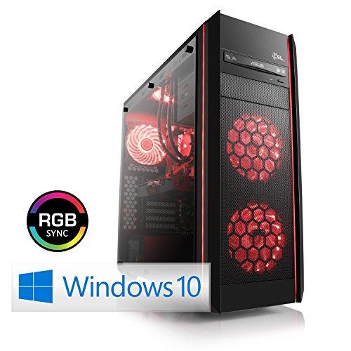 Preisvergleich Produktbild CSL Speed X4958 (Core i7) 4K Gaming PC inkl. Windows 10 - Intel Core i7-8700K 6 x 3700MHz,  16GB DDR4 RAM,  250GB SSD,  4000GB HDD,  GeForce GTX 1080 Ti,  DVD,  USB 3.1 Gen 2