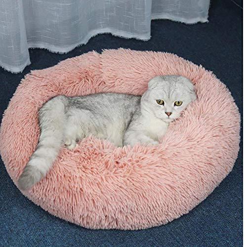 PiniceCore Weiche Haustier-Katze-Bett-Haustier-Haus Runde Cat_Mat Hundebett für Chihuahua Kleine Hunde Katzen Nest Winter warm Schlafenbett-Welpen-Matten (Chihuahua Hundebett)