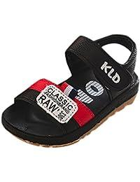 Huhua-Baby Sandal Sandals For Boys, Sandali bambini Rosa Hot rosa, Grigio (Gray), 36 EU