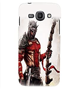 ColourCraft The Warrior Design Back Case Cover for SAMSUNG GALAXY ACE 3 LTE S727