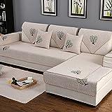 Sofa Abdeckungen L Form Couchbezug Rutschfeste Couchbezug,Maschine Waschbar,Sofa-Schild Für 1 2 3 4 Sofa -1 Stück-A 90x120cm(35x47inch)