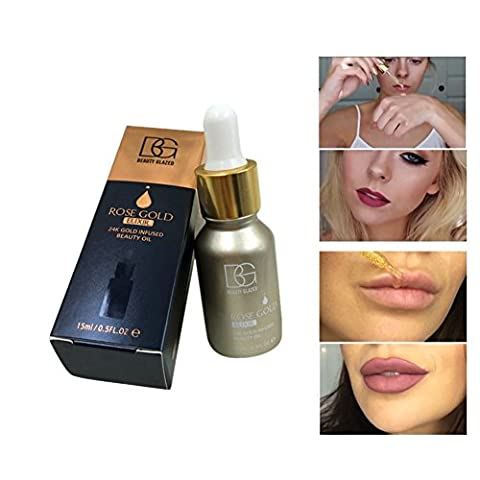 ROMANTIC BEAR Moisturizing Whitening Nurishing Oil-controling Tightening 24K Gold Skin Care