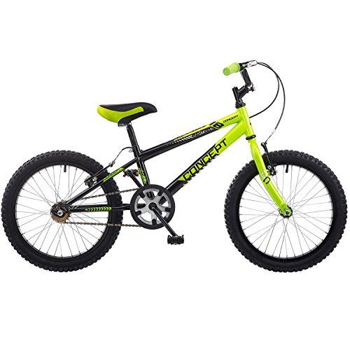 Preisvergleich Produktbild 18 Zoll Concept Viper Kinderfahrrad MTB Mountainbike schwarz grün