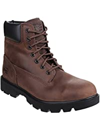 Timberland Mens Sawhorse Wide Lace up Leather Work Safety Boot