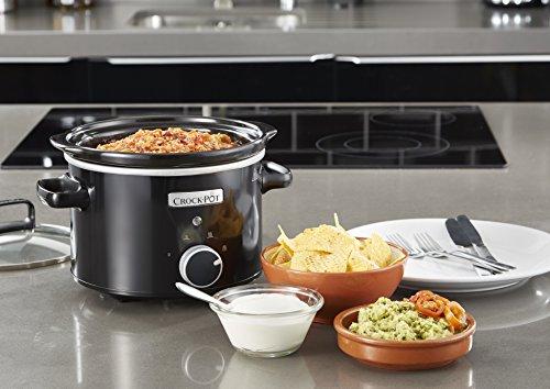 Crock-Pot CSC046X Olla de cocción lenta, 2,4 l 180 W, Negro