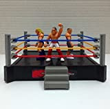 De-Lite Azora Mini WWE Fighting Mania Random 4 Super Stars Wrestling Toys- Ring