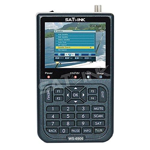 SATLINK WS 6906 DVB-S FTA Daten Digital-Satellitensignal -Sucher-Messinstrument, 3,5