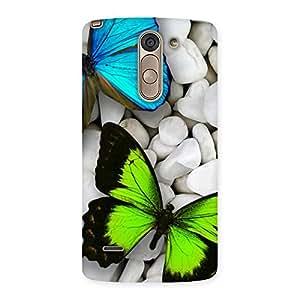 Gorgeous Premier Butterflies Multicolor Back Case Cover for LG G3 Stylus