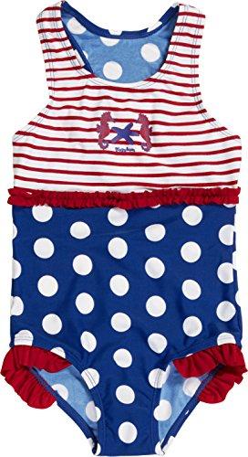 Baby Strandmode: Playshoes Mädchen Einteiler Badeanzug Seepferdchen UV - Schutz nach Standard 801
