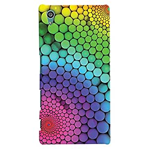 ColourCrust Sony Xperia Z5 Mobile Phone Back Cover With Colourful Pattern Style - Durable Matte Finish Hard Plastic Slim Case