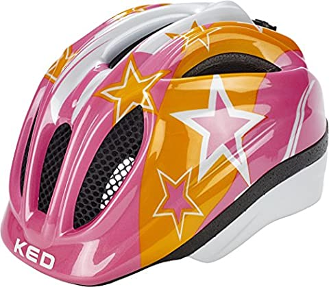KED Meggy Helmet Kids Pink Stars Kopfumfang 49-55 cm 2017 mountainbike helm downhill