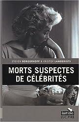Morts suspectes de célébrités