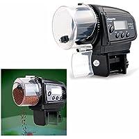 Gearmax® Distributeur automatique de nourriture pour aquariums avec une minuterie d'affichage LCD et un anti colmateur