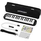 ammoon Melodica 37 Teclas Melodica Pianica Estilo Piano Teclado Armónica Boca Organ con Boquilla Limpieza Ropa