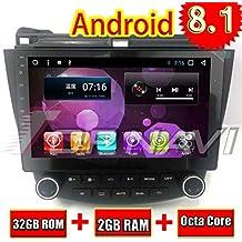 Android 8.1 Partes del automóvil Navegación estéreo para Honda Accord 2003 2004 2005 2006 2007 Radio