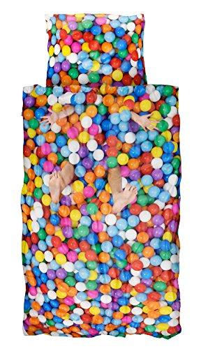Snurk - lenzuola palla Pit - 135 x 200 cm - 100% cotone