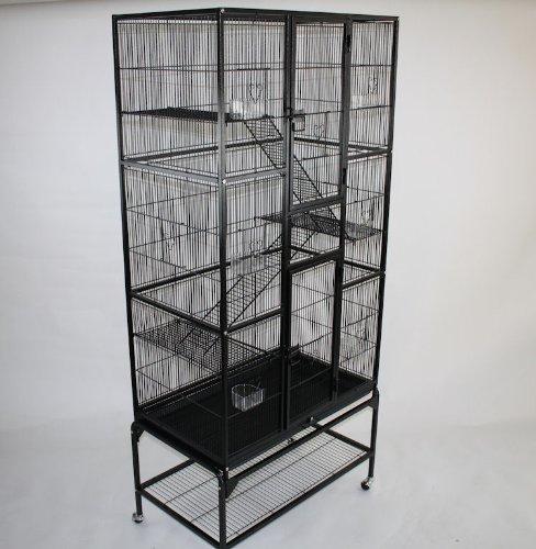 MegaCage XXXL riesiger Käfig für Hamster, Mäuse, Ratten, Chinchilla (Hamster Käfige Für Große Hamster)
