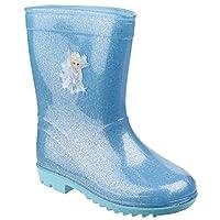 Frozen Childrens/Girls Elsa Wellington Boots