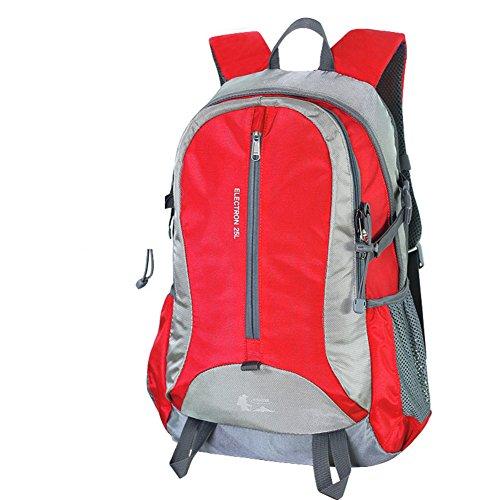 Outdoor Rucksack Tasche wandern/Camping Rucksack/ Reise-Trek Rucksack Rot