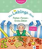 Klett Mein Lieblings-Block - Farben, Formen, Erstes Zählen. Kindergarten ab 3 Jahren. Das kannst du alleine!