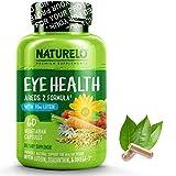 NATURELO Eye Vitamins - AREDS 2 Formula with Lutein, Zeaxanthin, Natural Vitamin C