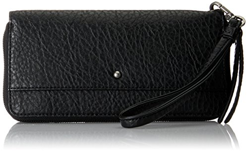 ESPRIT Damen 097ea1v003 Geldbörse, Schwarz (Black), 1x9,5x19,5 cm