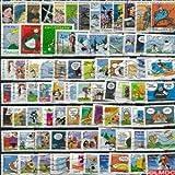 Collection de timbres France oblitérés Bandes Dessinees Nbre de timbres:25 timbres différents