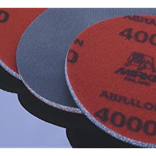8A-241-AP, Mirka Abralon 6 in. Foam Grip Disc, 2 ea 180, 360, 500, 1000, 2000, 4000 by Mirka