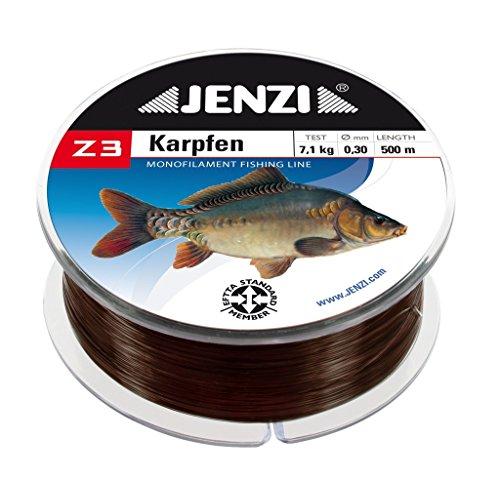 Jenzi Z3 Karpfenschnur Angelschnur Schnur Karpfen 500m 0,30 mm