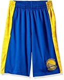 NBA by Outerstuff NBA Youth Boys Golden State Warriors Shooter Sublimated Mesh Short, Blue, Youth X-Large(18)