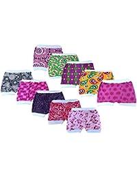 Lariyo kids wear Cotton half pants or Trousers for Baby boys and girls (White rib trousers - 5pcs)
