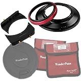 """WonderPana 66 FreeArc Adaptador de Filtros Giratorio 145mm, 6.6"""" Soporte del Filtro y Tapa de Lente para el Lente Olympus 7-14mm f/4.0 Zuiko ED Zoom (OM-4/3 Formato)"""