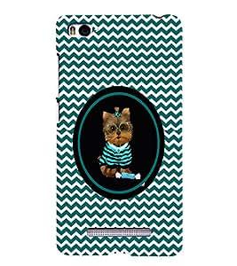 PRINTVISA Cute Cat Case Cover for Xiaomi Mi4i