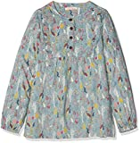 Fat Face Girl's Lucy Enchanted Forest Blouse, Blue (Pretty Aqua Blu), Years (Size: 6-7)