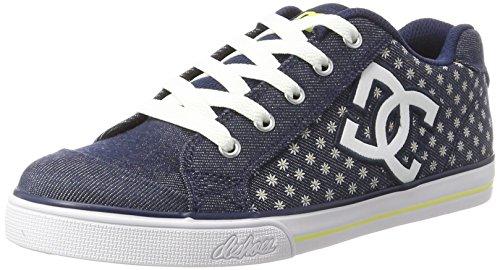 DC Shoes Chelsea TX SP, Zapatillas para Niñas, Azul (Denim), 32 EU