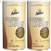Preisvergleich für Inko Active Protein Shake Laktosefrei 2 x 450g Dose2er Pack Schoko