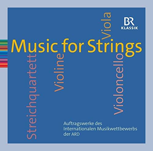 Preisvergleich Produktbild Music for Strings - Auftragswerke des Musikwettberwerbs der ARD