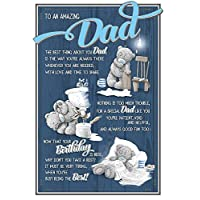 Me to You to an Amazing Dad Birthday Card