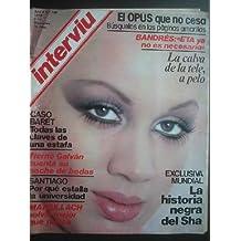 INTERVIU AÑO 4, Nº186. 6 - 12 DICIEMBRE 1979