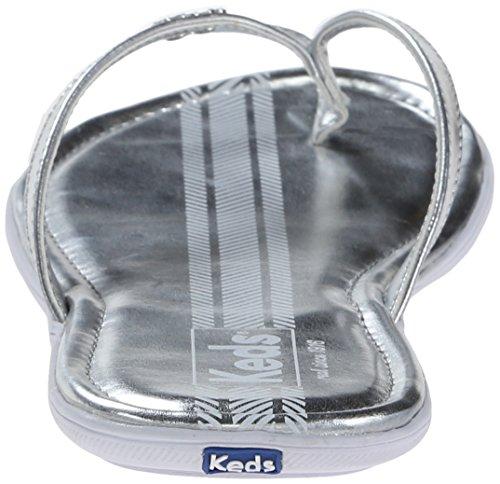 Keds - Photophores Sandales pour dames - Met Silver