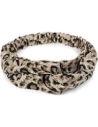 styleBREAKER Cinta para el Pelo de Mujer con Estampado de Leopardo 80befc414862