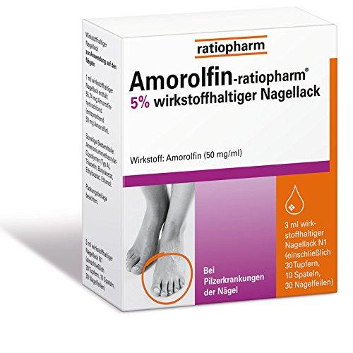 Amorolfin-ratiopharm 5{4ef6a2ab7f0669205950290bc1cf6a024e797b8a873b2bc950506b691d9374e5} 3 ml
