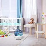 Luftbefeuchter, VicTsing Ultraschall-Luftbefeuchter mit 360° Düse Leise Baby Raumbefeuchte, Automatischer Abschaltung, 12-24 Stunden Arbeitszeit, Humidifier für Kinderzimmer Babyzimmer Schlafzimmer - 6