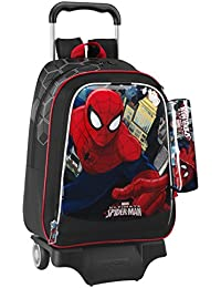 Trolley SPIDERMAN grand sac à roulettes ULTIMATE MARVEL