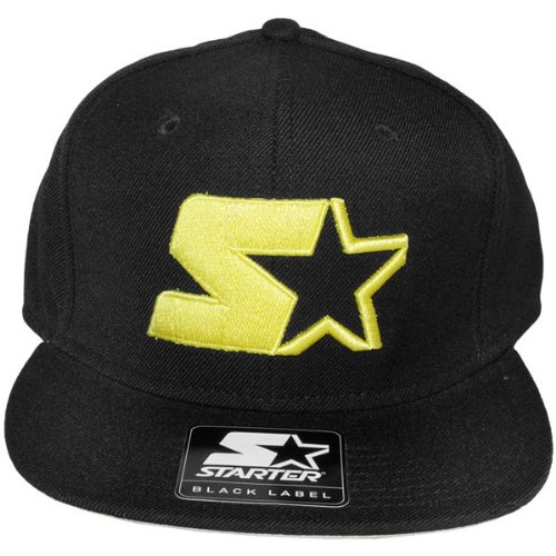 Starter LOGO NEON SNAPBACK noir/jaune