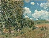 Alfred Sisley – The Road from Versailles to Saint-Germain Fine Art Print (27.94 x 35.56 cm)