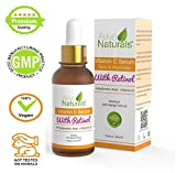 ★SPECIAL SALE PRICE★ ORGANIC 20% Vitamin C Serum and Retinol Serum For Face and Neck with Hyaluronic Acid - Clinical Strength - The Best Anti Ageing & Anti Wrinkle Serum - Face Lift in a bottle! This Vegan Vitamin C Serum Will Plump, Hydrate & Brighten Skin While Filling In Those Fine Lines & Wrinkles. See Results Or Your Money Back!